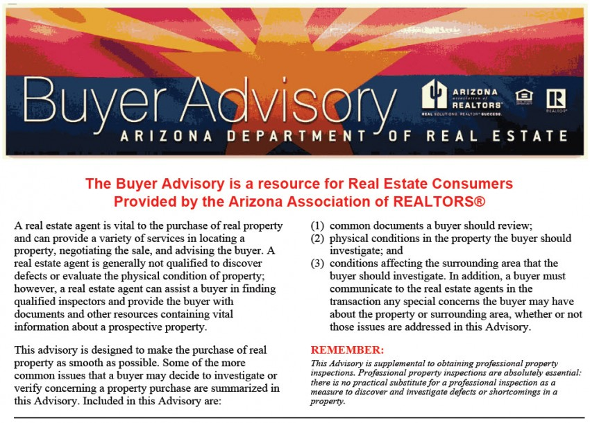 Buyer Advisory cover-image