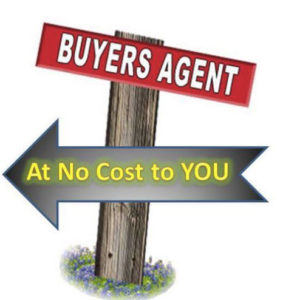 Buyer Agent No-cost Sign
