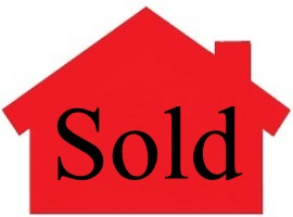 Sold -image red house