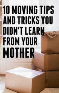 Move tips you didnt learn from mom