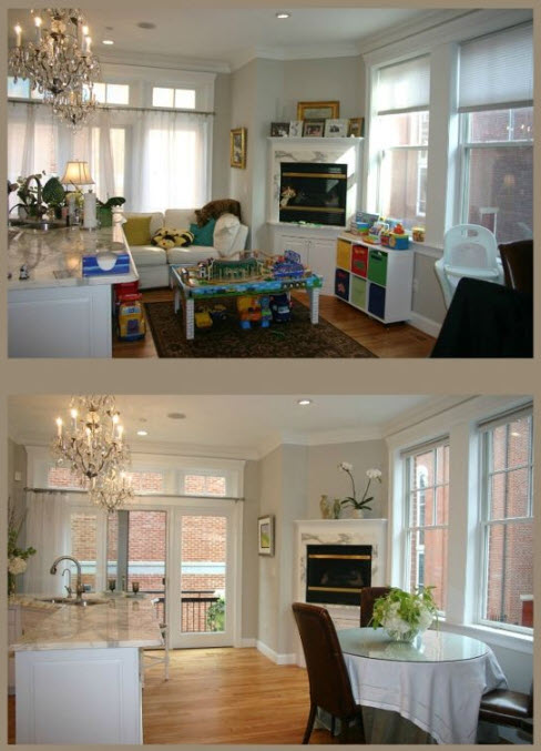 Home Staging - Before and After